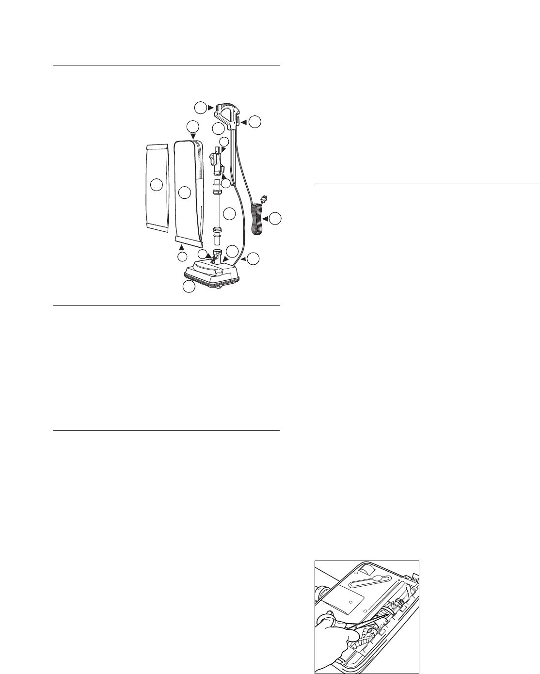 Oreck U3720H Users Manual