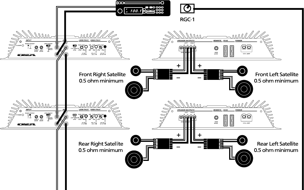 Orion Car Audio 250R And 275R Users Manual Xtr1200