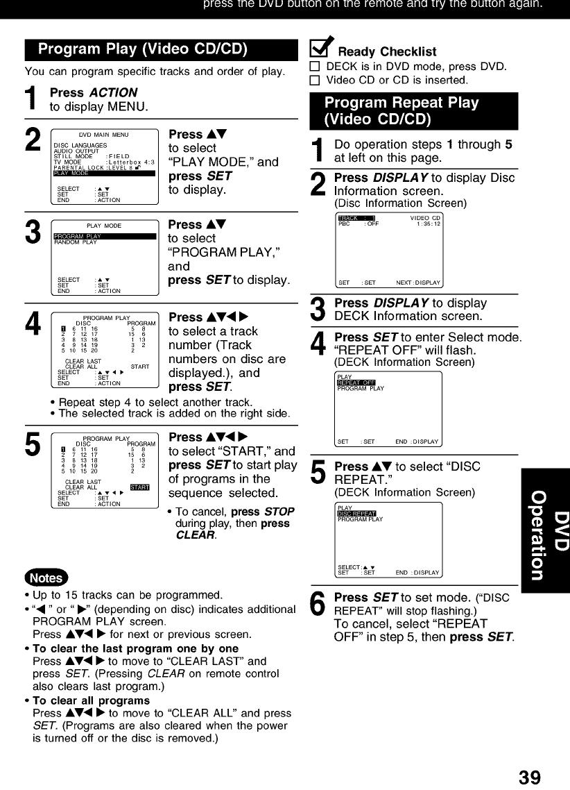 PANASONIC DVD/VCR Combo Manual L0208212