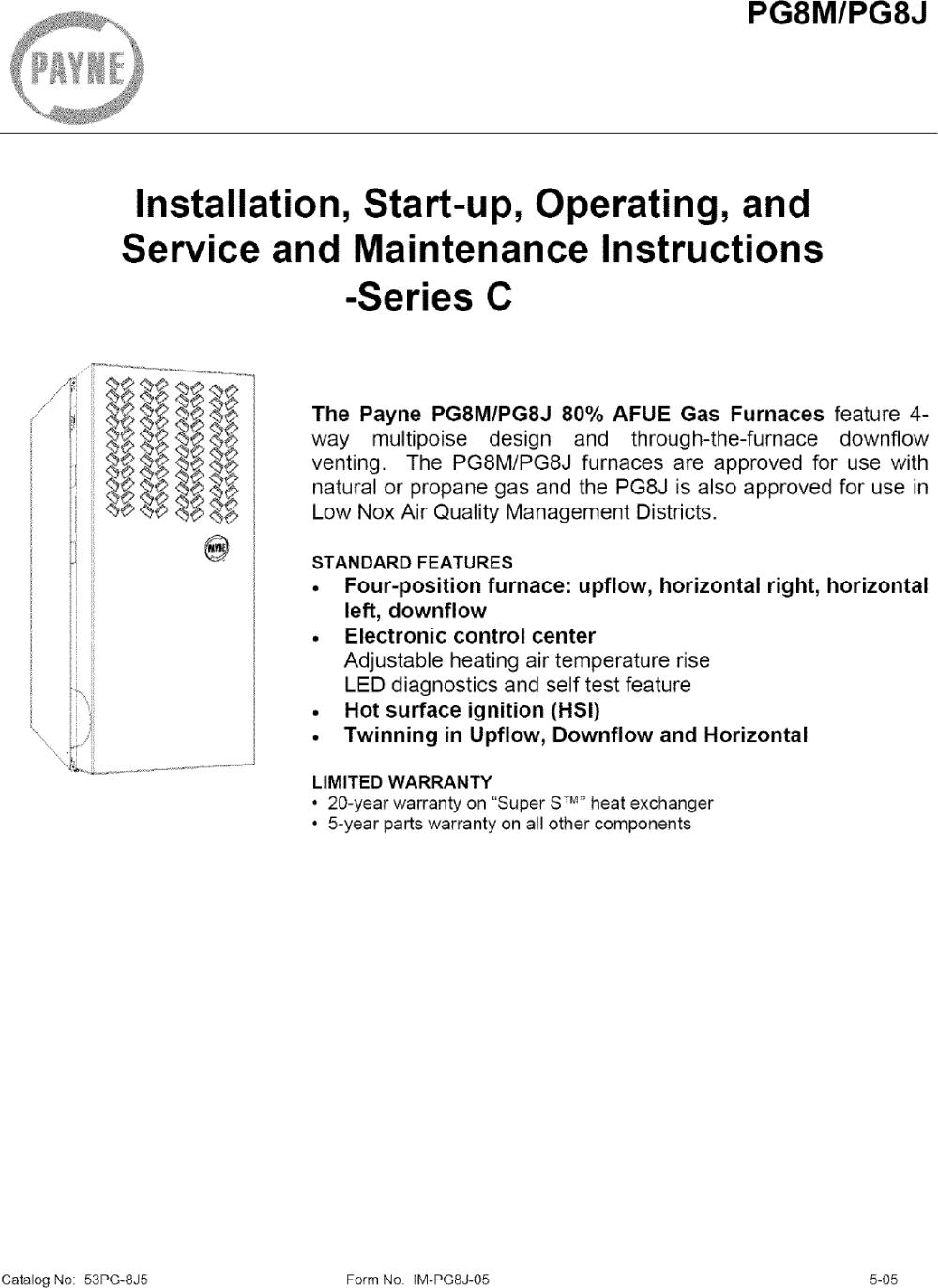 medium resolution of payne ga heater wiring diagram