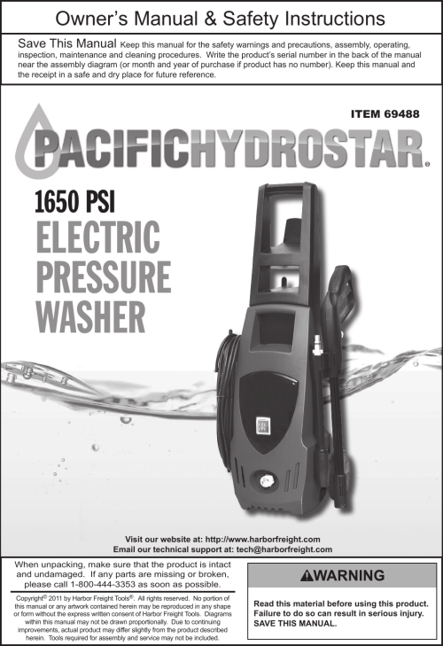 small resolution of pacific hydrostar 1650 psi owners manual manualslib makes it easy to find manuals online