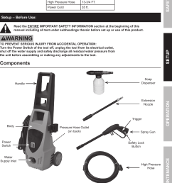 pacific hydrostar 1650 psi owners manual manualslib makes it easy to find manuals online  [ 1096 x 1527 Pixel ]