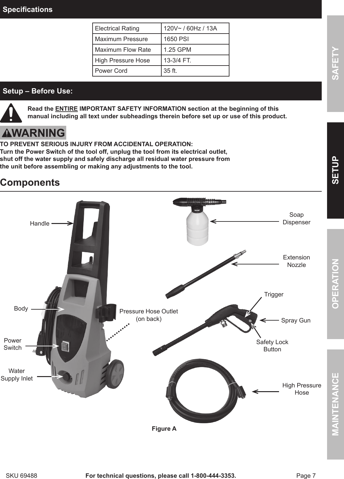 hight resolution of pacific hydrostar 1650 psi owners manual manualslib makes it easy to find manuals online