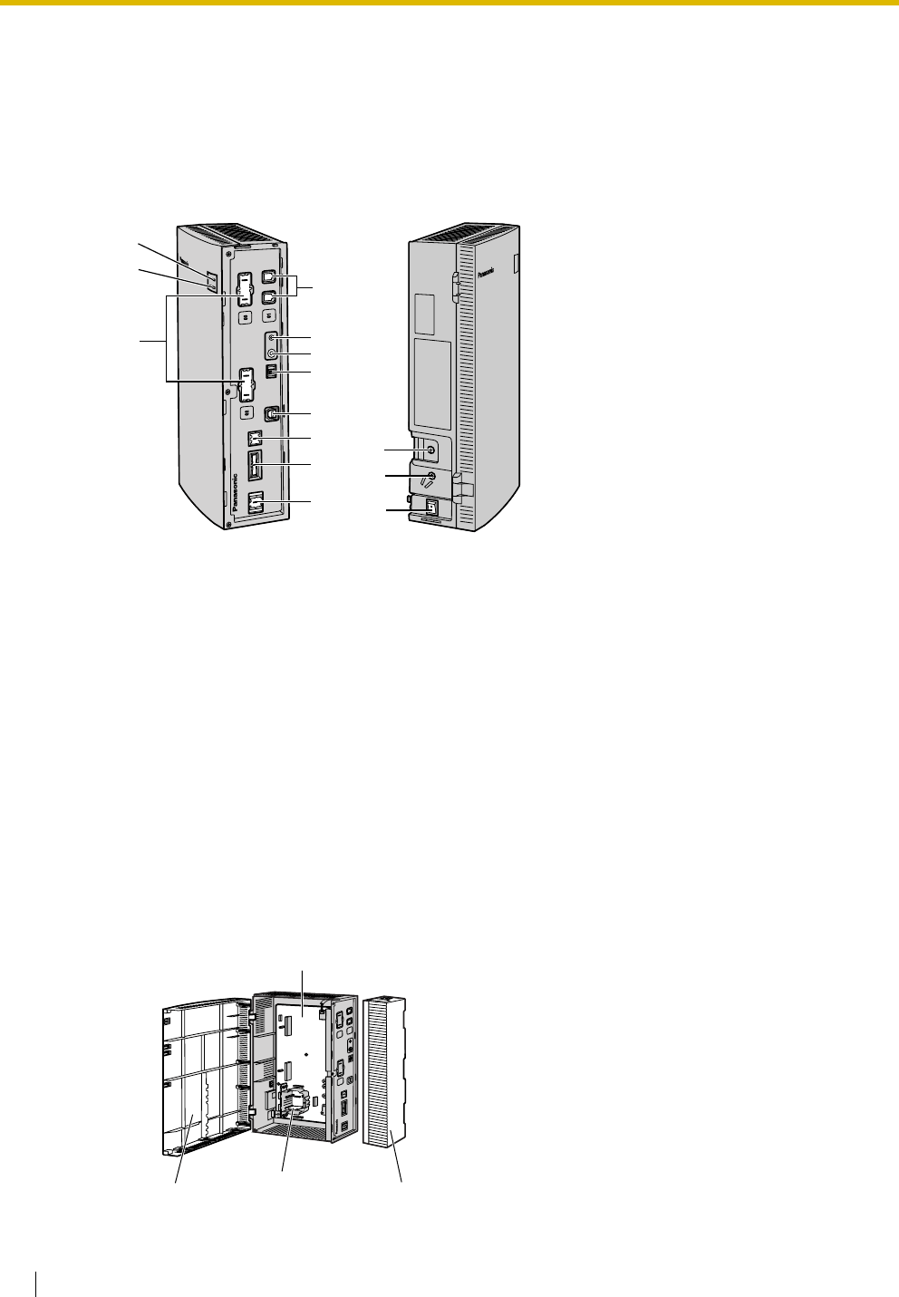 Panasonic KX TVM50 Installation_Manual User Manual To The