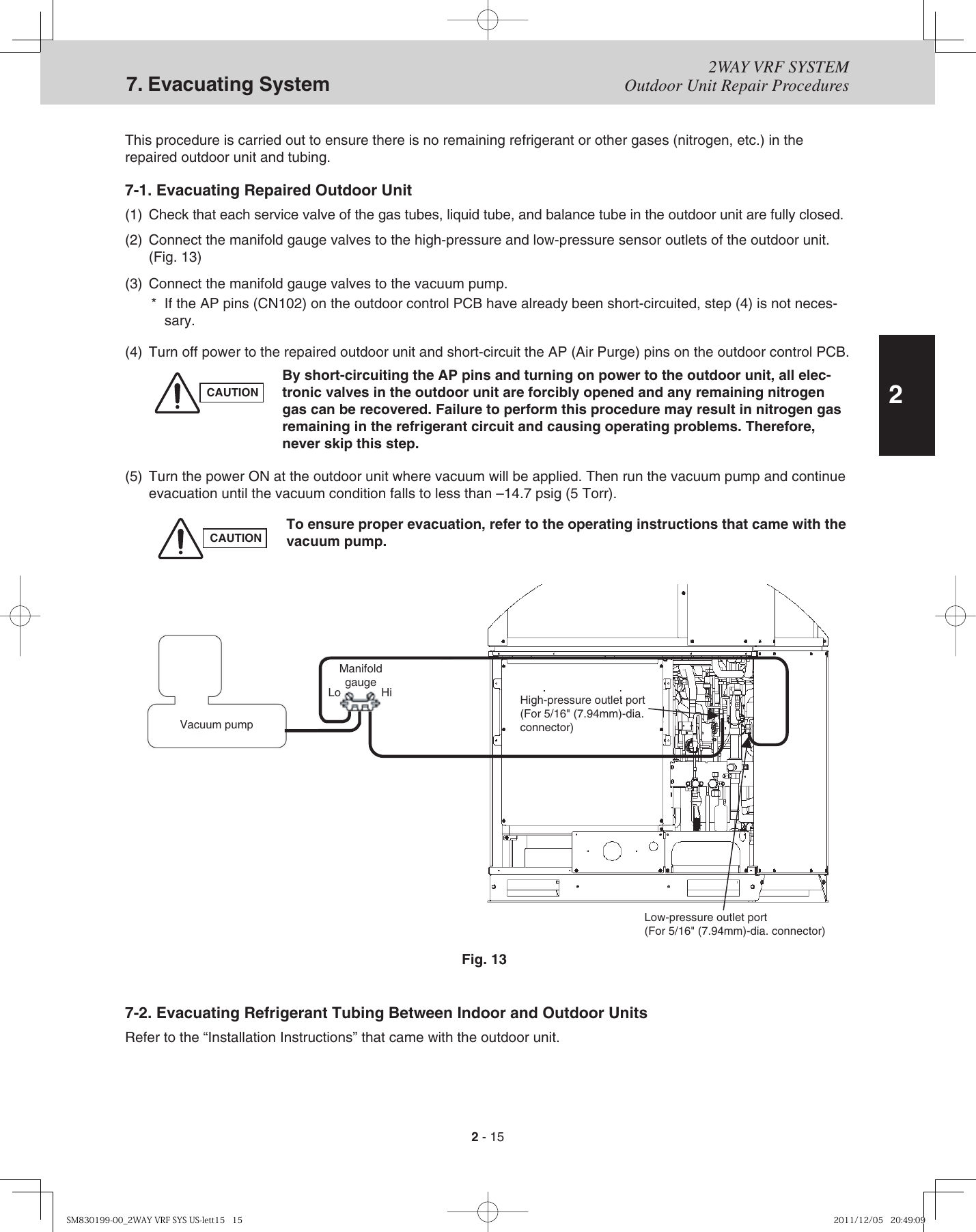 hight resolution of diagram 7a 2 x 2 port valve system wiring diagram name panasonic 2 way service manual