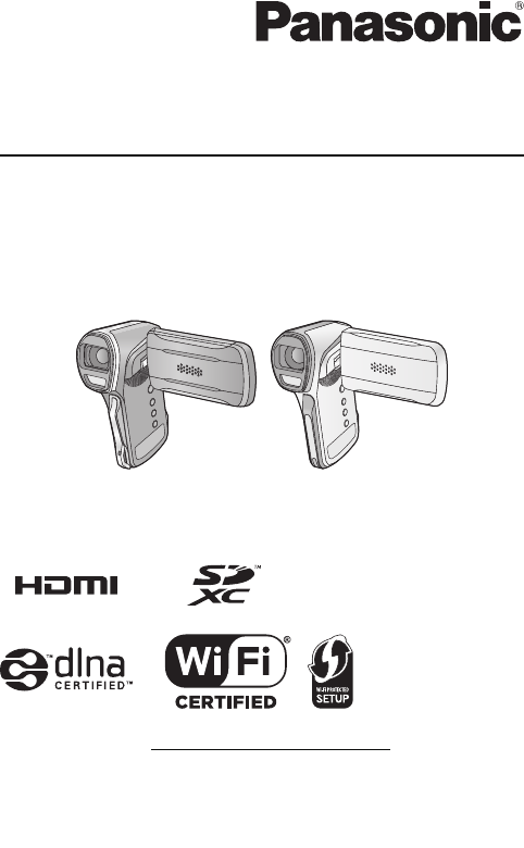 Panasonic Hx Wa03 Owners Manual WA30/HX WA3/HX