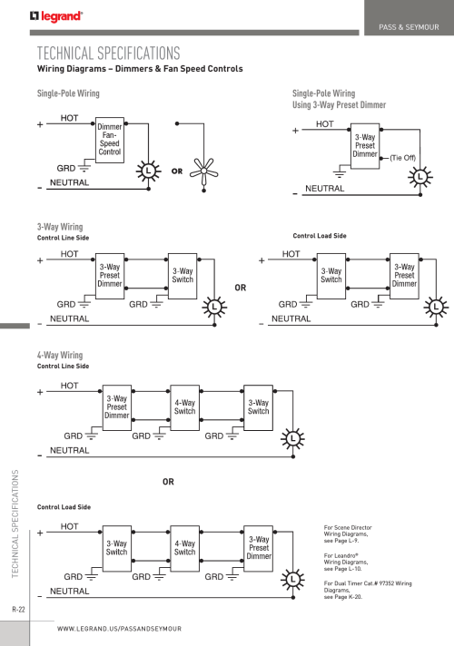 small resolution of pas and seymour 4 way switch wiring diagram