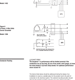 installation directions on 120 208 3 phase diagram high leg delta connection open  [ 1047 x 1462 Pixel ]