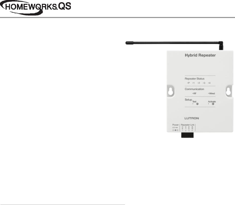 lutron hybrid keypad wiring diagram taylor dunn 369351 homeworks qs repeaters brochure 1www com help