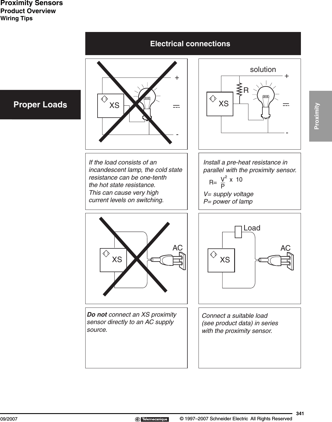 hight resolution of ac proximity switch wiring