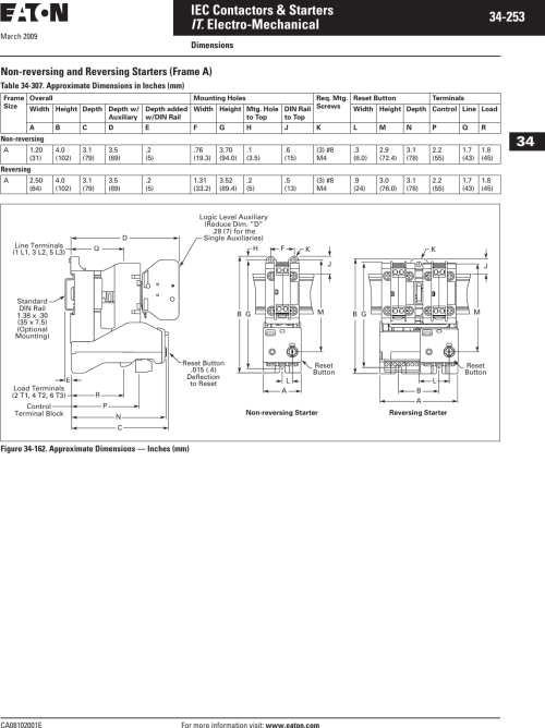 small resolution of eaton iec motor starter wiring diagram