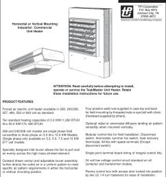 taskmaster unit heater wiring diagram schematic wiring diagrams heater element wiring diagram taskmaster 5100 heater wiring diagram [ 1125 x 1500 Pixel ]