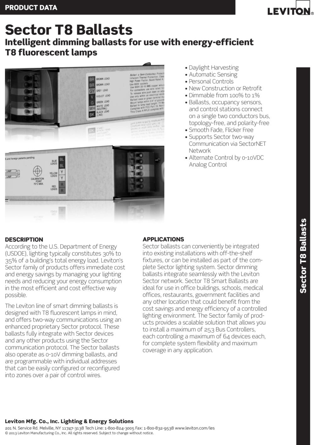 medium resolution of wiring dimming leviton diagram ballast sd2j8