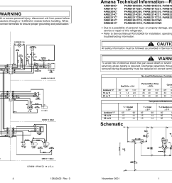 wiring diagram amana technical informationrefrigerator service or [ 2396 x 1521 Pixel ]