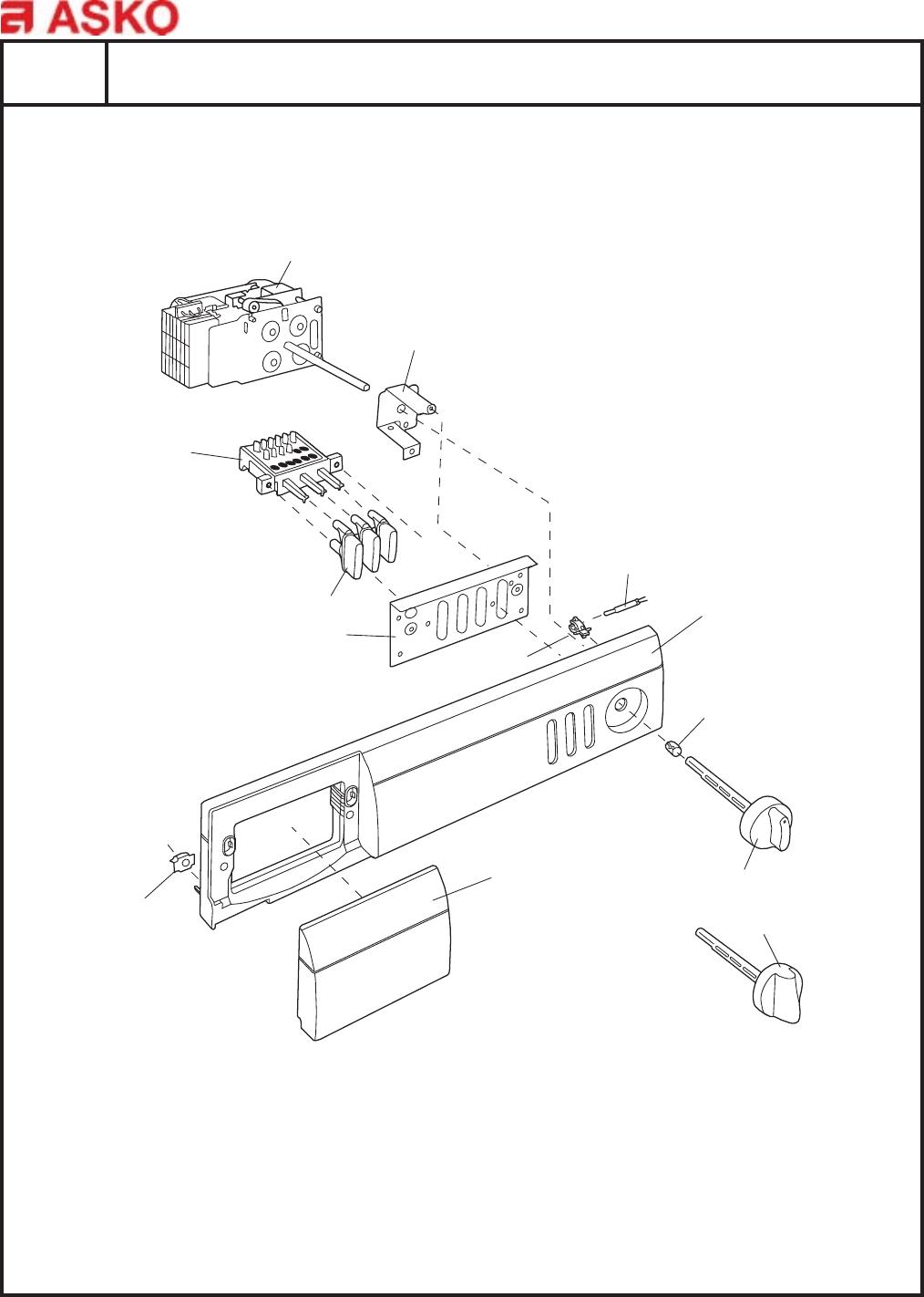 Asko Dryer TD70A 7005 US WHITE