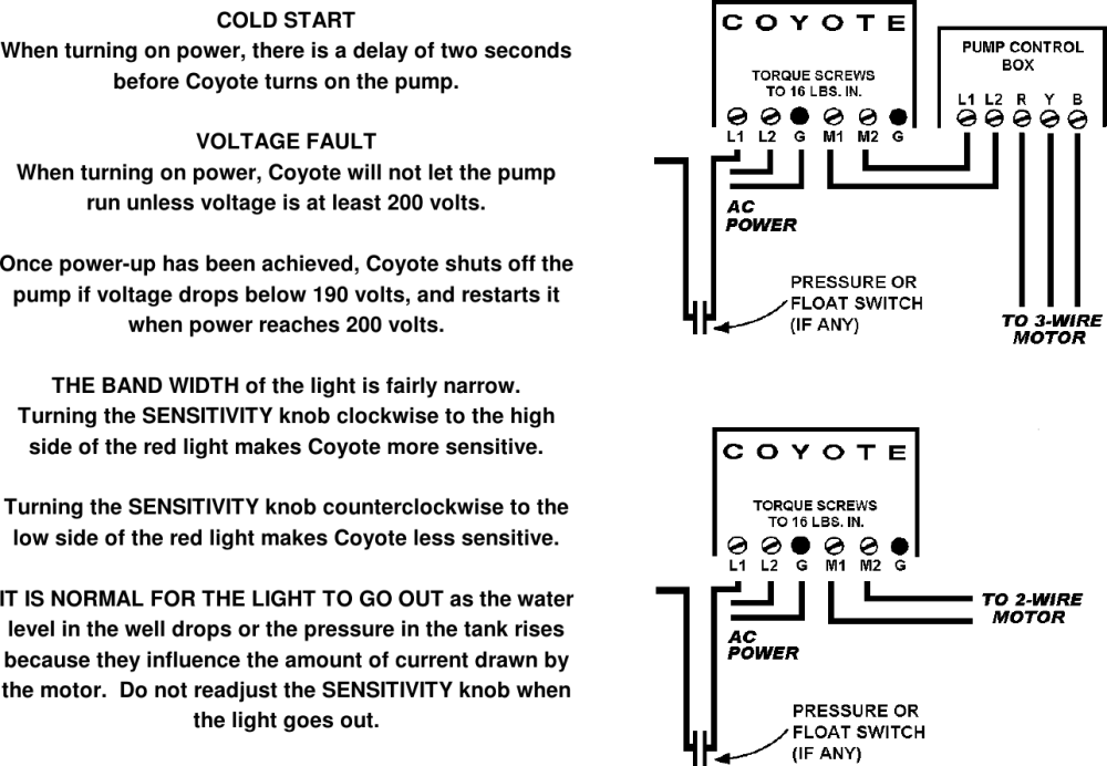 medium resolution of page 2 of 2 1ph230v instructions coyote