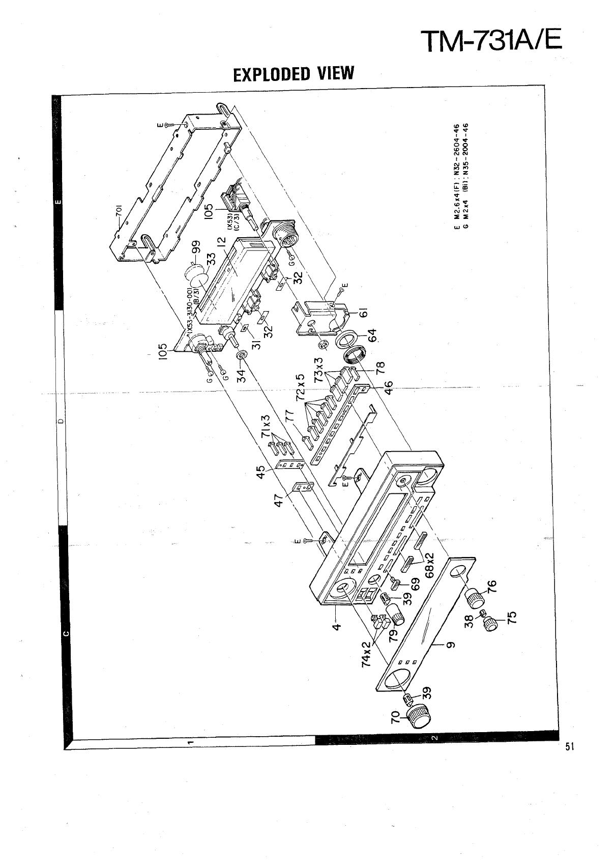 Kenwood TM 731 Service Manual