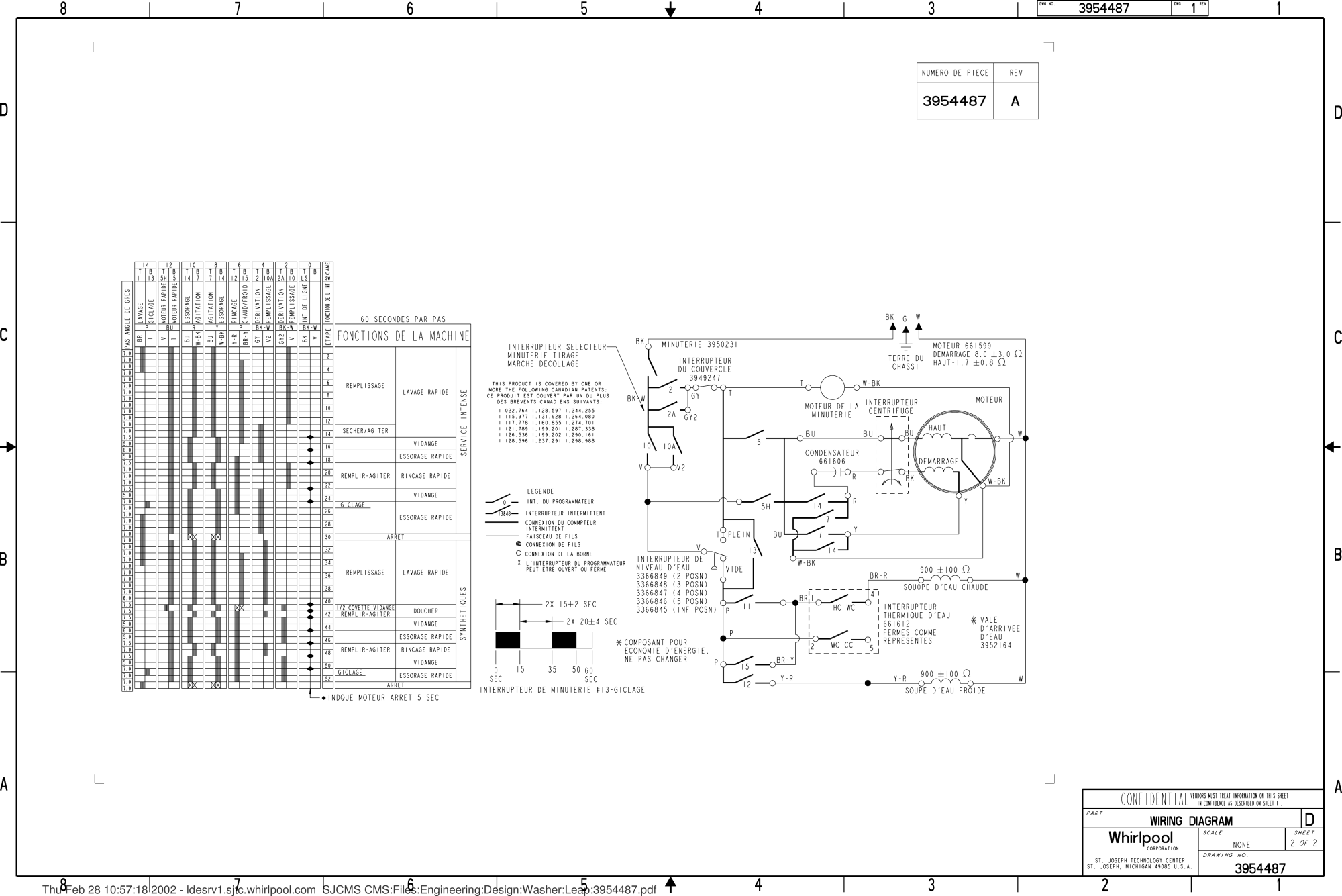 hight resolution of page 2 of 2 kenmore washer wiring diagram 3954487