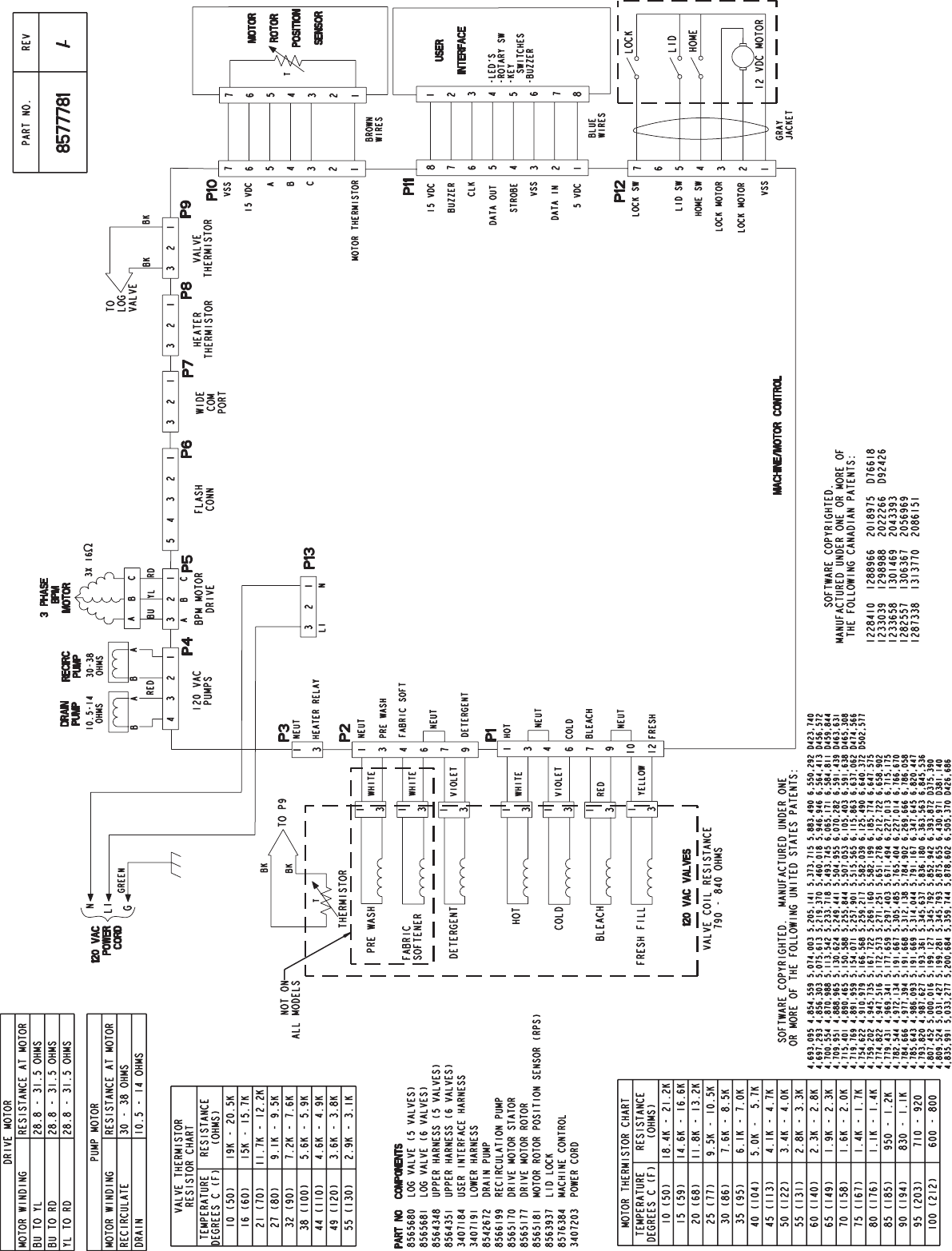 hight resolution of page 1 of 2 graphic1 kenmore washer wiring sheet 110 27092602