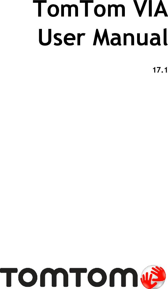 TomTom VIA 1615 TM User Manual EN