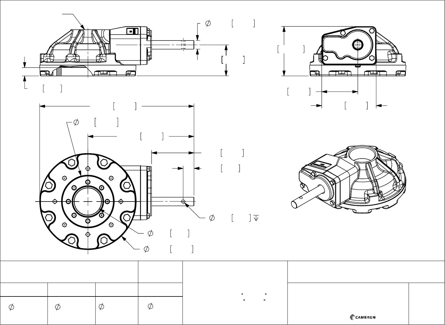 7D 22 4XX_BG4 DYNATORQUE Multi Turn Bevel Gear Operators