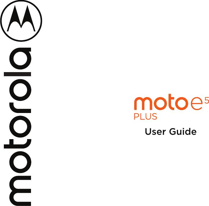 Motorola Moto E5 Plus Manual UG NA Retail En US SSC8C29752C