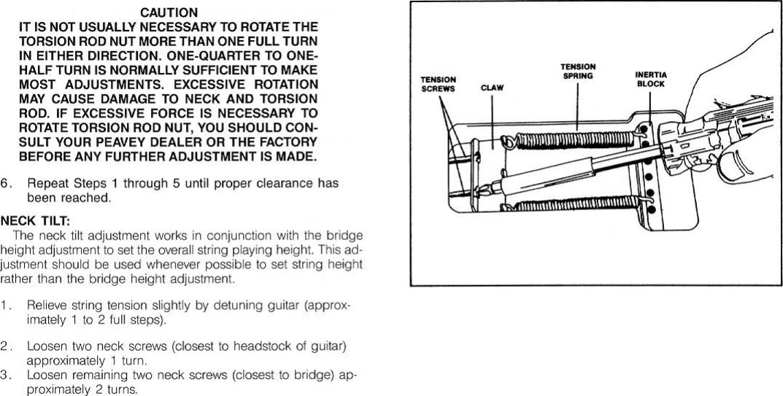 Peavey Tracer Lt Users Manual