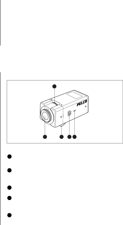 Pelco MC3810 2 Monochrome Camera_manual User Manual To The