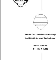 pelco camera lens iop08c3j 1 users manual camera lens wiring diagram [ 979 x 1408 Pixel ]
