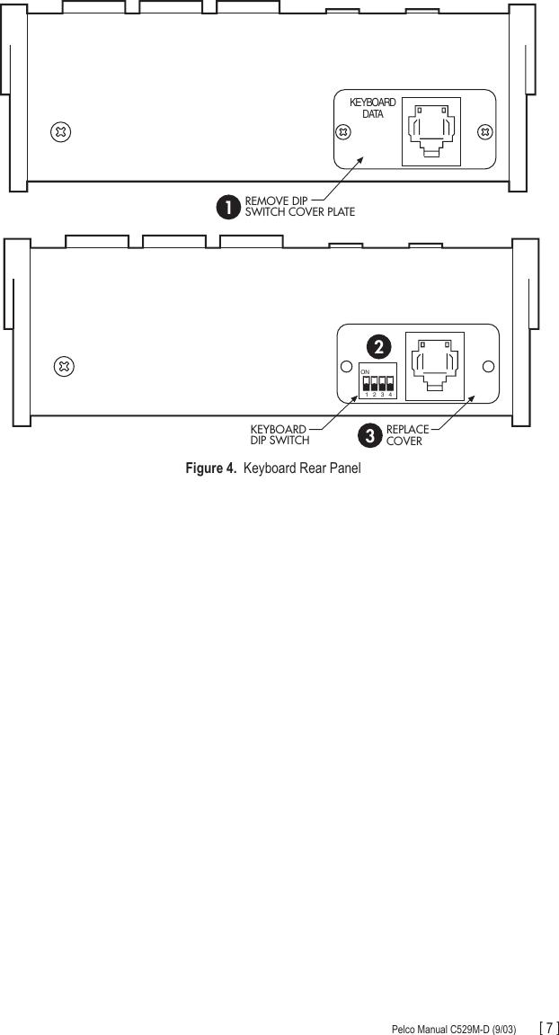 Pelco Kbd100 Universal Keyboard C529M D Users Manual