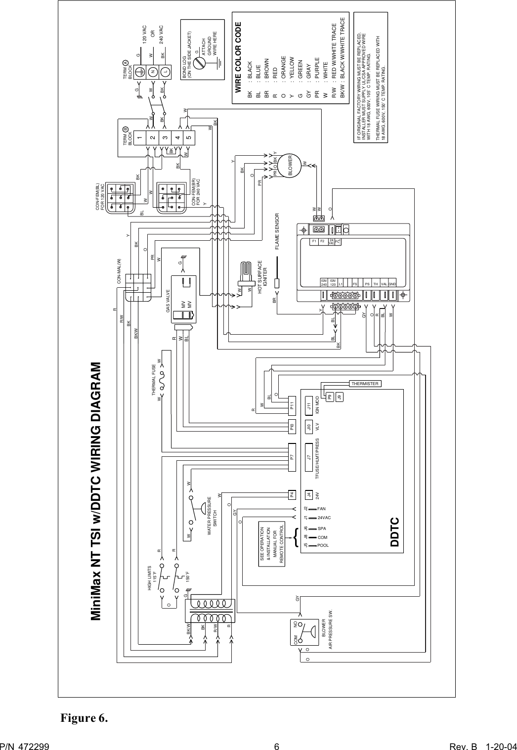 hight resolution of page 6 of 12 pentair pentair minimax nt heater users