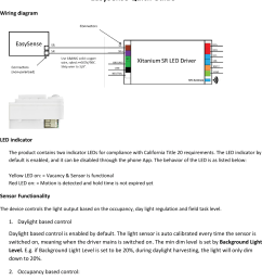 philips lighting north america sns100 simple sense user manual manual occupancy sensors wiring diagram daylight harvesting wiring diagram [ 1109 x 1377 Pixel ]