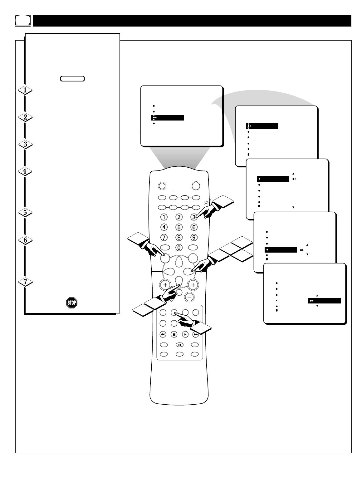 Philips 36PT71B1 36pt71b199 Dfu Aen