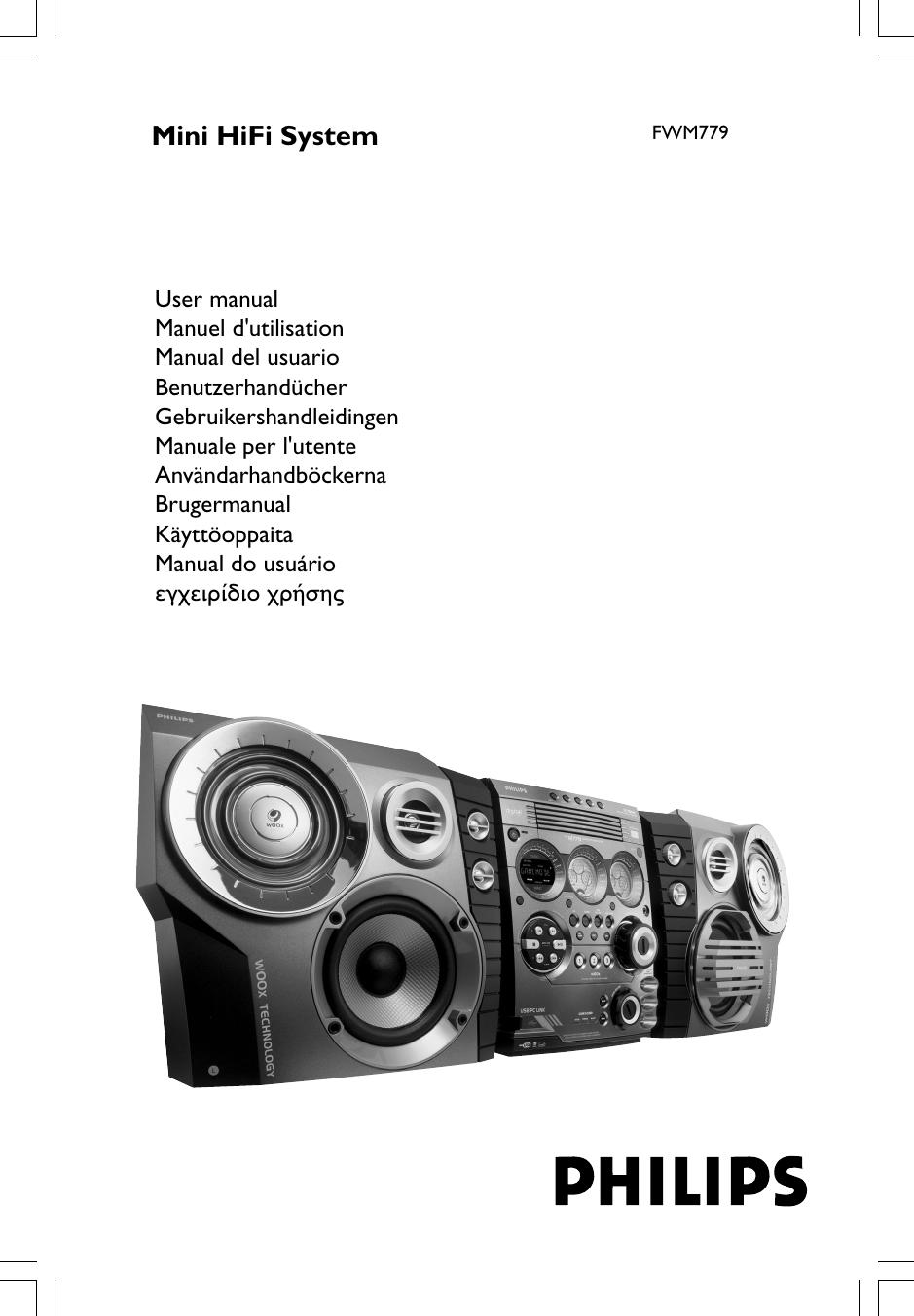 Philips FWM779/22 FW M779 22 P174 P197_Dan User Manual