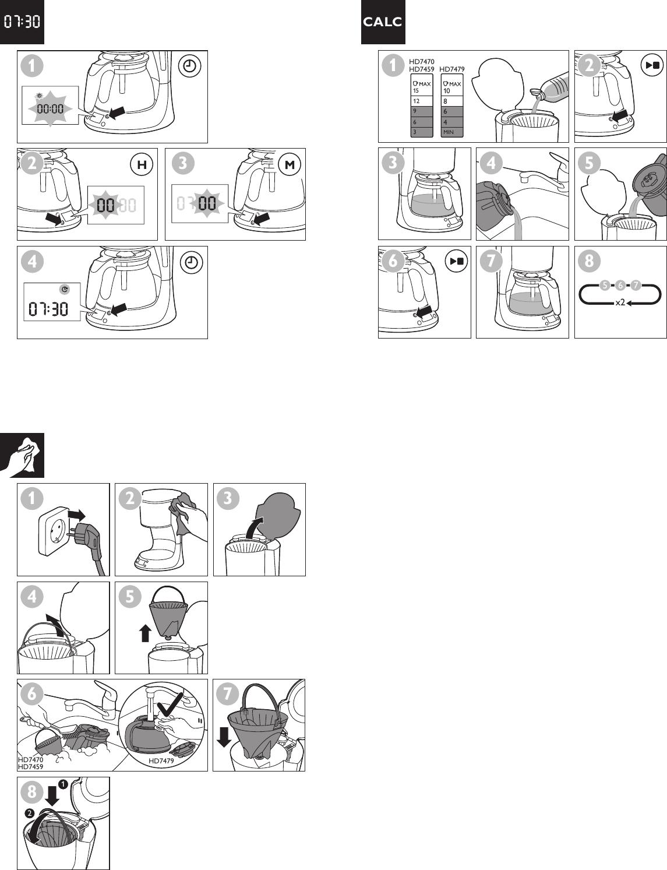 Philips HD7479/20 User Manual Gebruiksaanwijzing Hd7479 20