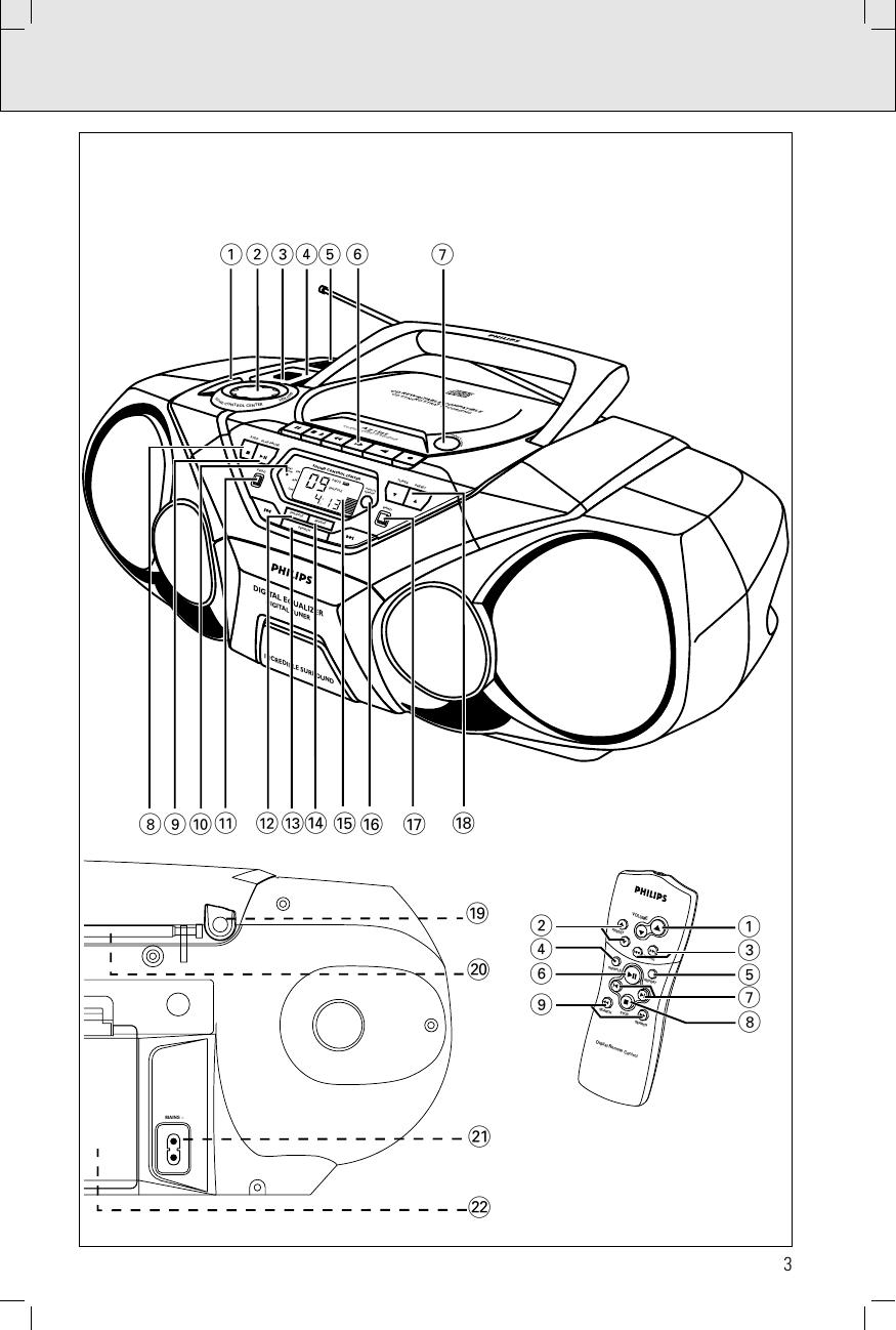 Philips Az1565 Users Manual XP AZ1565/00 1