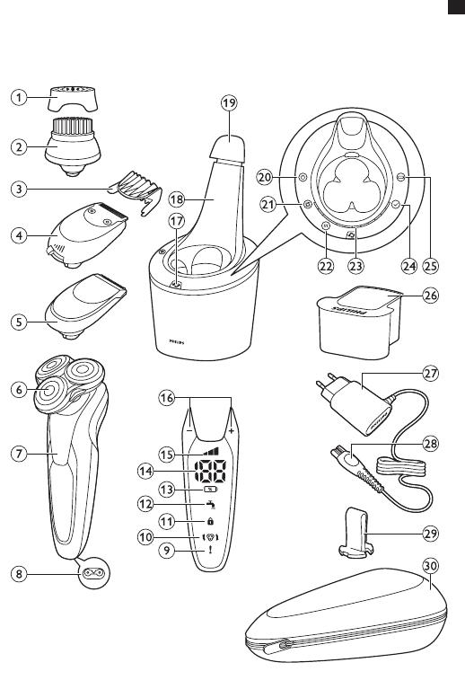 Philips S9711/31 Freek Bosgraaf User Manual Používateľská