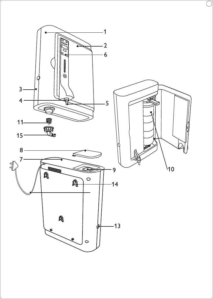 Philips WP3892/01 User Manual คู่มือผู้ใช้ Wp3892 01 Dfu Por