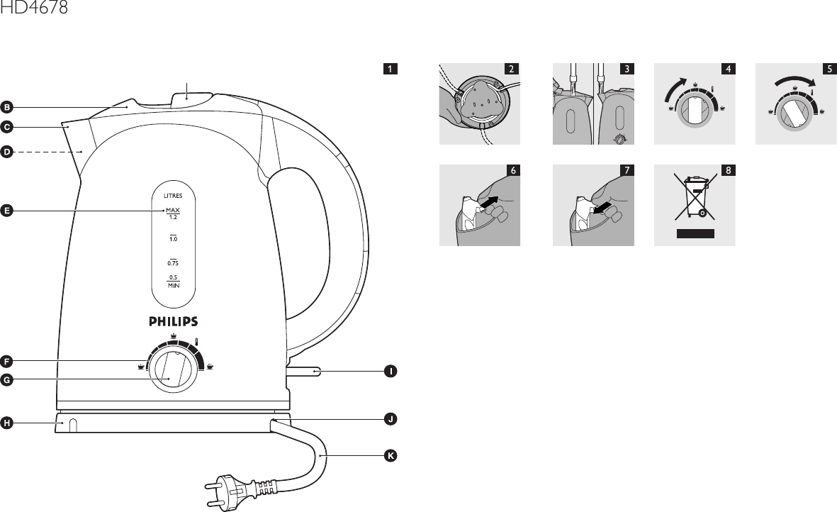 Philips User Manual Hd4678 80 Dfu Lav
