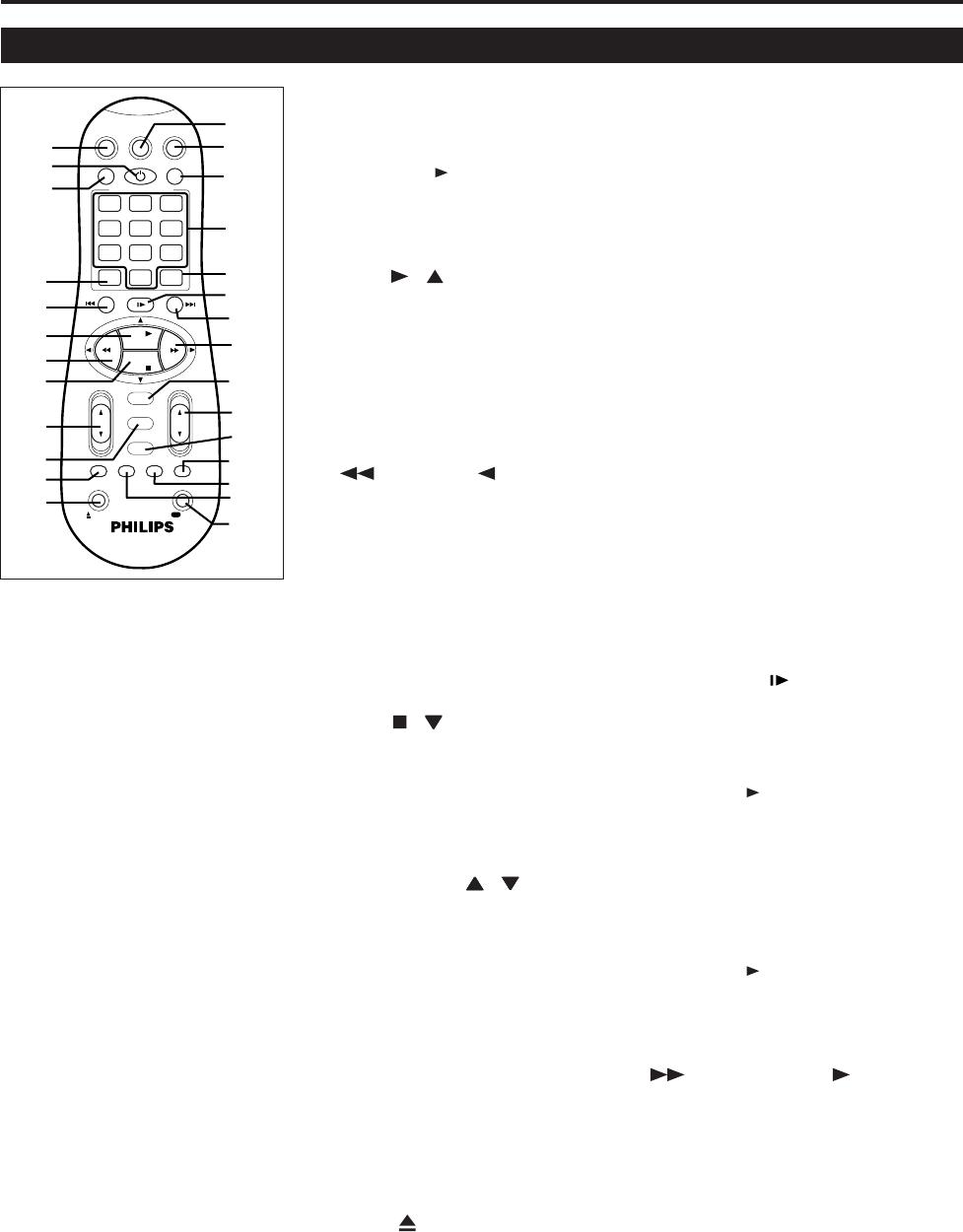 Philips Vr210/410/55 使用者手冊 Vr210 55 Dfu Eng