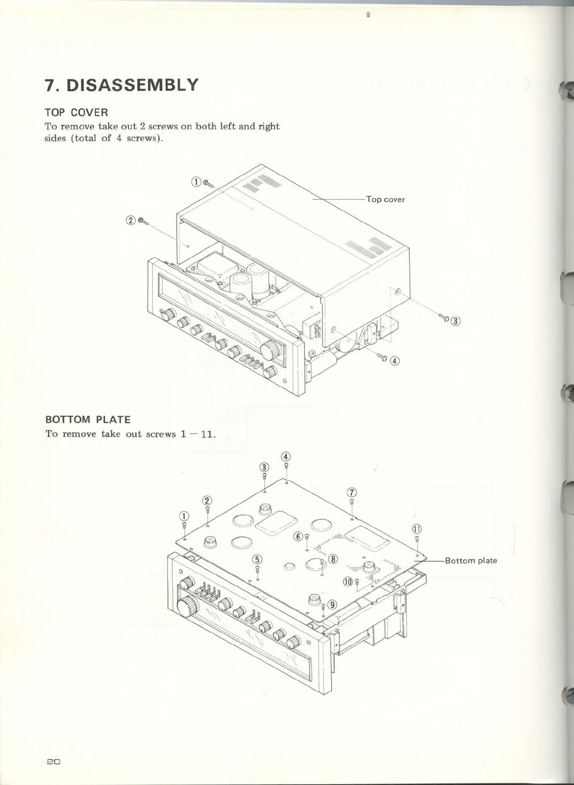 Pioneer Stereo Receiver Sx 650 Users Manual