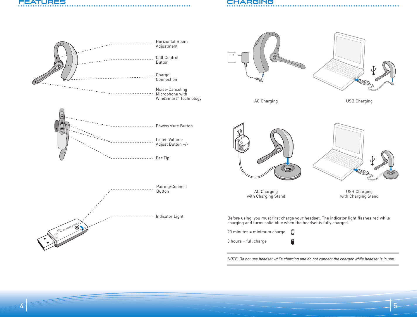 hight resolution of page 3 of 10 plantronics plantronics plantronics bluetooth headset 510