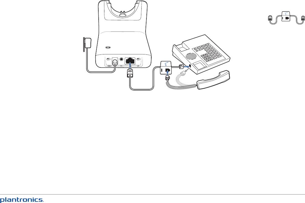 Plantronics Wireless Office Headset Cs520 Users Manual