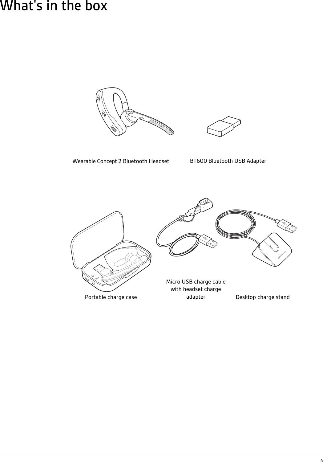 Plantronics WC2 Bluetooth Headset User Manual 06a Wearable