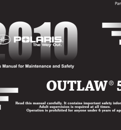 polaris outlaw 9922485 owners manual manualslib makes it easy to find manuals online  [ 1221 x 814 Pixel ]