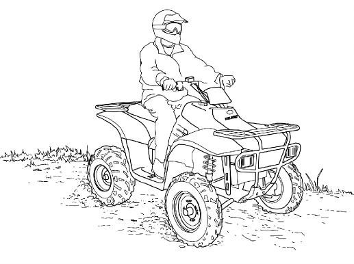Polaris Trail Boss 330 Quadricycle Users Manual Quadboss