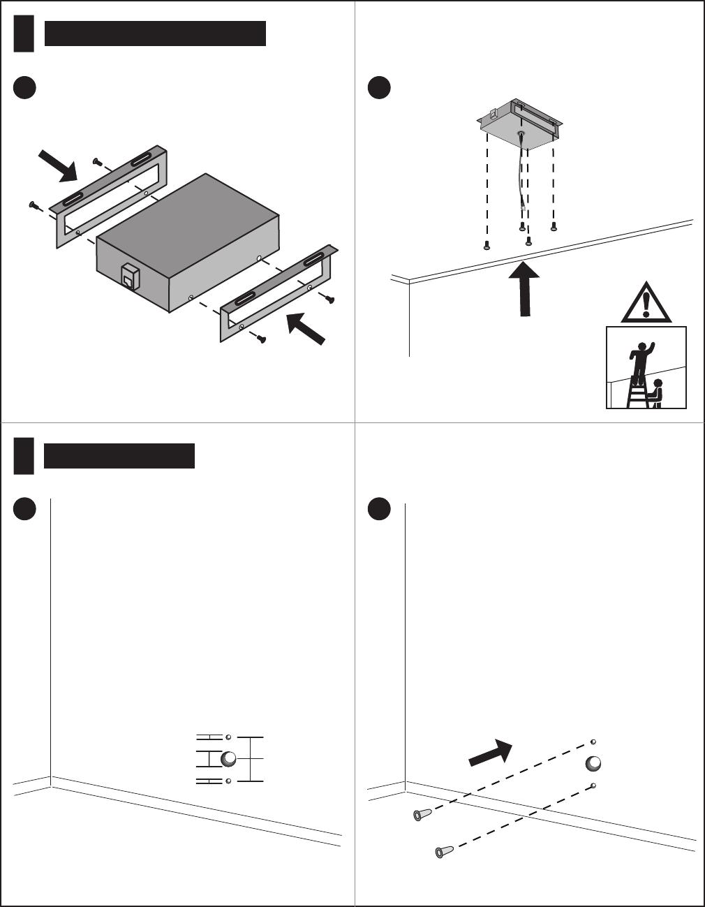 Polycom Vsxtm 5000 Users Manual Setting Up The VSX Ceiling