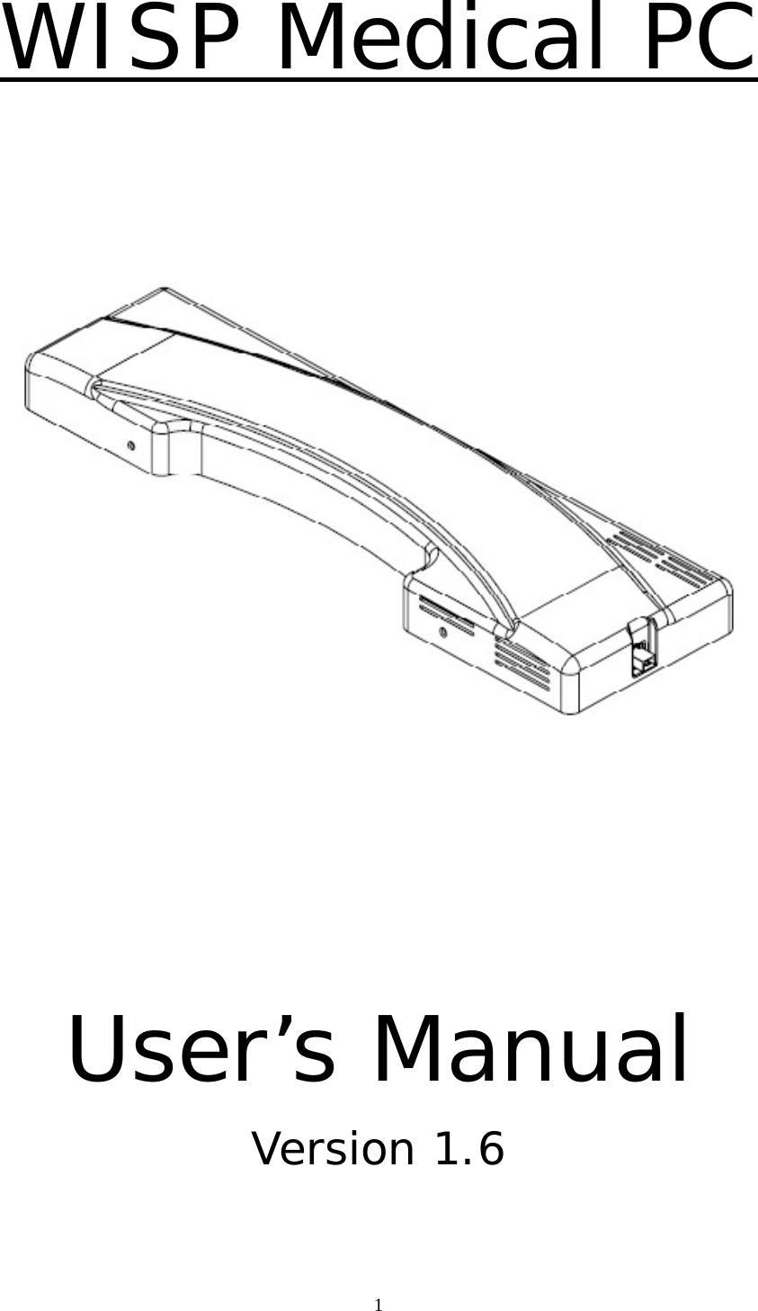 Portwell WISP5 Wireless Service Platform User Manual WISP