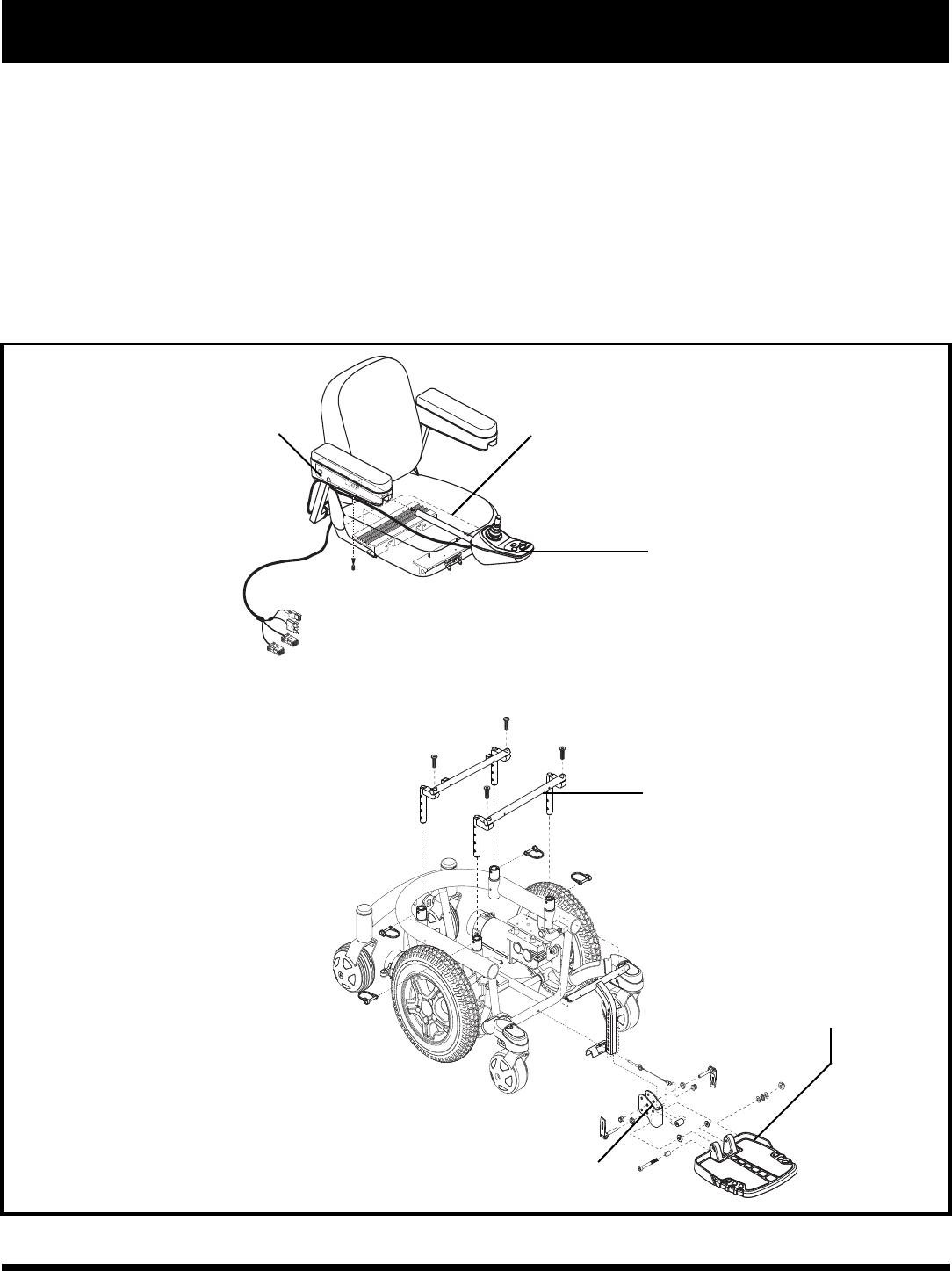 Pride Mobility Quantum 600 Sp User Manual 1003399 US_Q600