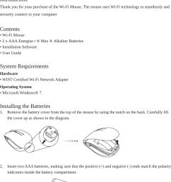 primax electronics mmowfepul wifi mouse user manual wifi mouse user guide 1 [ 864 x 1379 Pixel ]